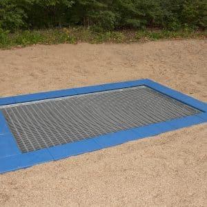 legeplads trampolin, lille model